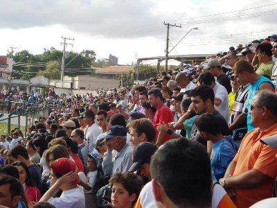 Estádio lotado