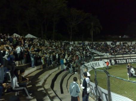 Mais de 5 mil pessoas acompanharam a partida.