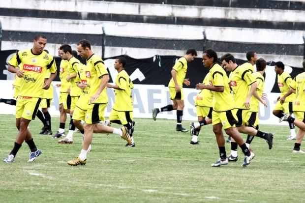 foto do jornal DCMais (19/05/2010) - Treino Paranaense 2010