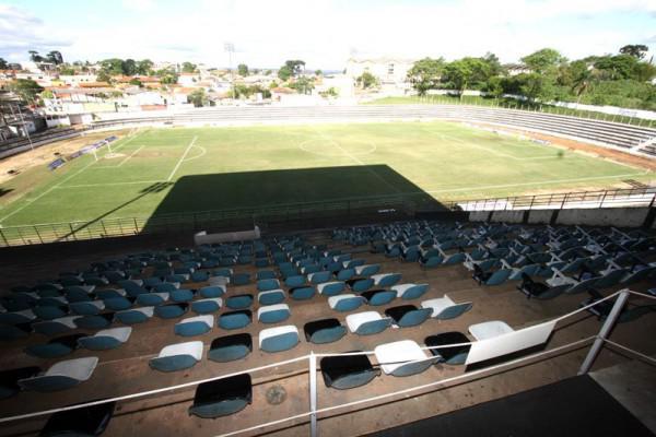 Foto: Estádio Germano Krüger deve ter grande teste para ampliação de capacidade neste domingo na partida entre Operário e Madureira pelas quartas de final da Série D