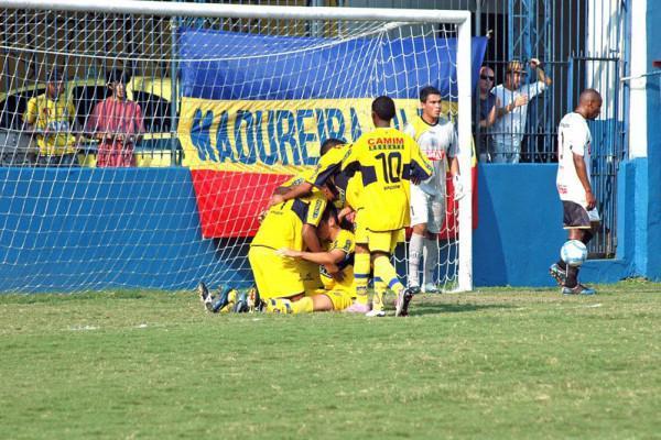 Foto: Madureira comemora vaga com duas vitórias sobre o time ponta-grossense