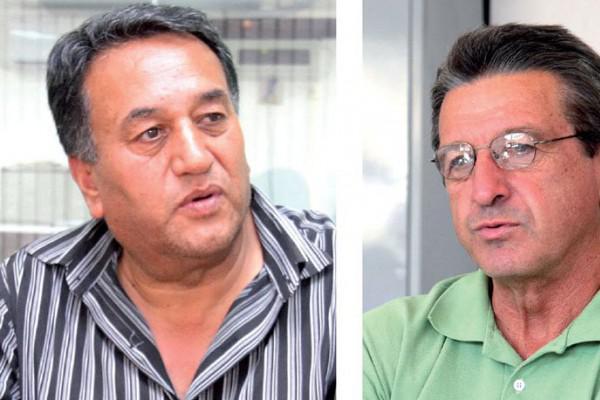 Foto: Amadeu e Iurk disputam o cargo de presidente do Operário; eleições acontecem neste sábado