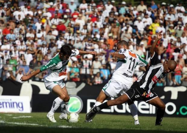 Foto: Fantasma teve mais posse de bola, mas não conseguiu chegar ao gol