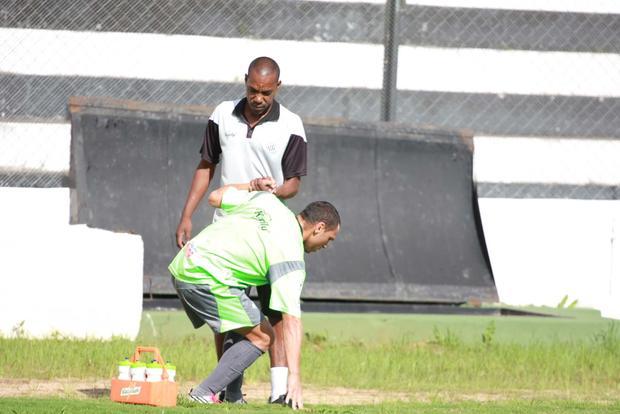 Foto: SENTIU Mateus sentiu dores no último treino antes do confronto contra o Iraty e pode ficar fora