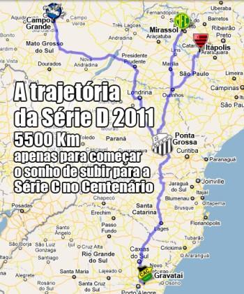 19/05/2011 - A trajatória da Série D - blog da torcida