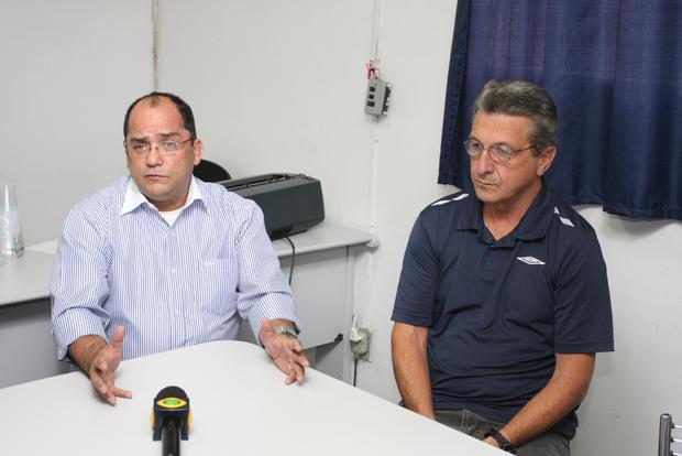 MUDANÇA Jairo Freitas, sócio da Premier Soccer, responsável pelo futebol em Vila Oficinas, apresentou planos para o Operário