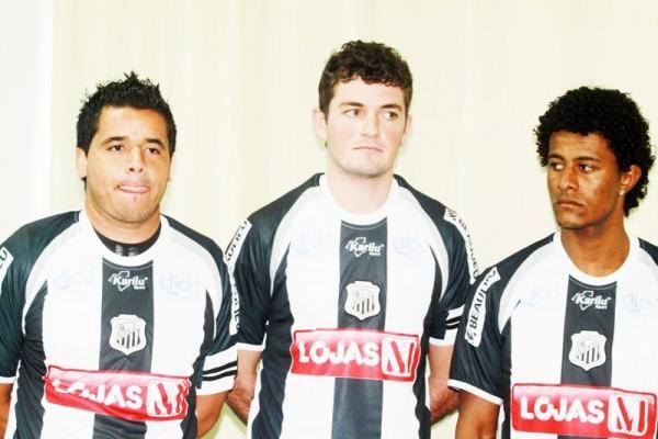 George, Vítor Ramirez e Bruno são os novos jogadores contratados pelo Operário