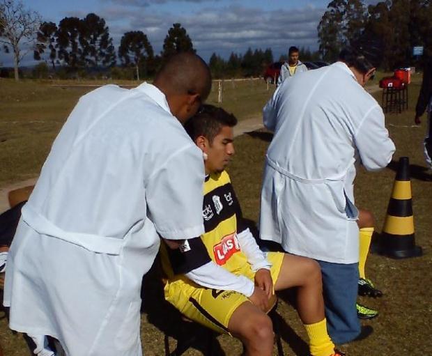 Vindo da base, Pará participou do primeiro treinamento oficialmente como profissional