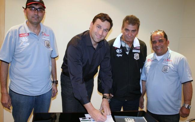 14/7/2011 - Ageu Diniz, Márcio Pauliki, Jair Pereira, e Jairo Freitas