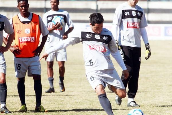 Lateral George está confirmado na lateral-esquerda do time de Vila Oficinas