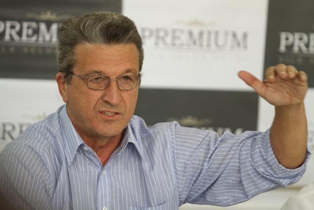 Presidente do Operário, Carlos Roberto Iurk assume a gestão do clube a partir de agora - Foto: Fabio Matavelli