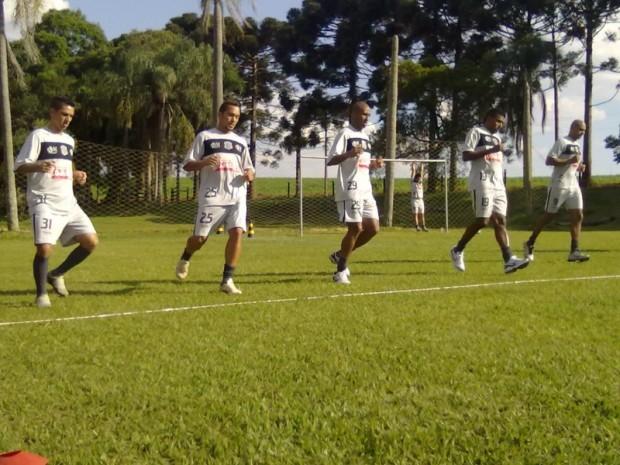 Jogadores utilizaram campos em Tibagi para atividades físicas - Foto: Site Oficial