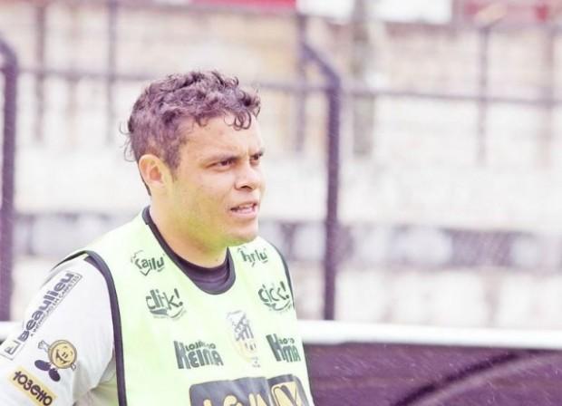 O meia-campista Ceará vai dividir a responsabilidade de armar as jogadas com o estreante William