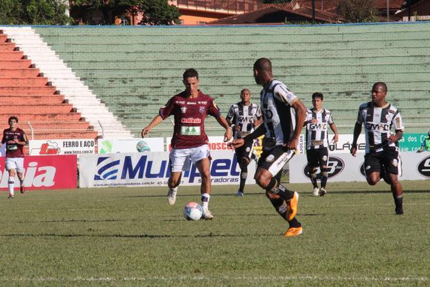 Alvinegro viajou com cinco desfalques para o Oeste, mas conseguiu a vitória no 14 de Dezembro Foto: Vinícius Moraes