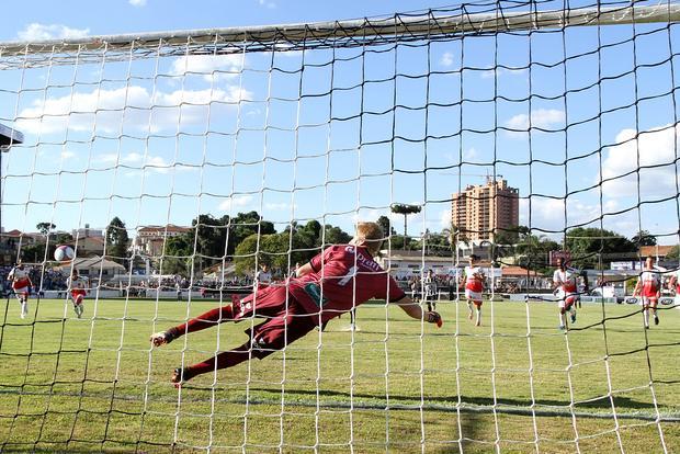 Andrezinho marcou o gol do Fantasma, próximo desafio da equipe é contra o Rio Branco Foto: Fábio Matavelli