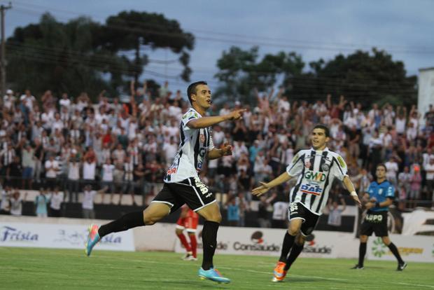 Lucas Batatinha foi o autor do segundo gol do Fantasma, foi o primeiro gol do atleta em partidas oficiais Foto: Fábio Matavelli
